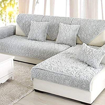 Amazon Com Bbppssooffaa Sofa Furniture Protector For Pet Dog Sofa Slipcover Solid Color Thicken Sofa Throw Covers Sofa Throw Cover Slipcovered Sofa Sofa Throw