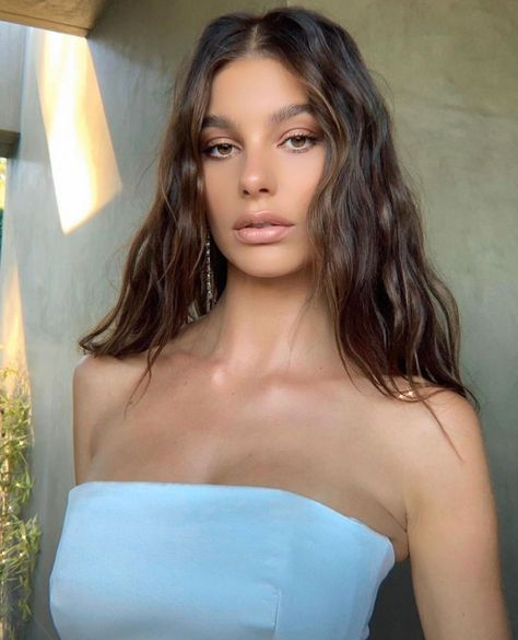 """Camila Morrone on Instagram: """"old/new via @hairbyruslan . This look is from the #onceuponatimeinhollywood Los Angeles premiere <3 - #camilamorrone #camimorrone"""""""