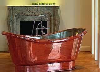 Ein Traum Aus Kupfer Eine Handgetriebene Badewanne Aus 2 Mm