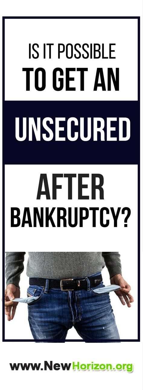 Is It Possible To Get An Unsecured Credit Card After Bankruptcy?