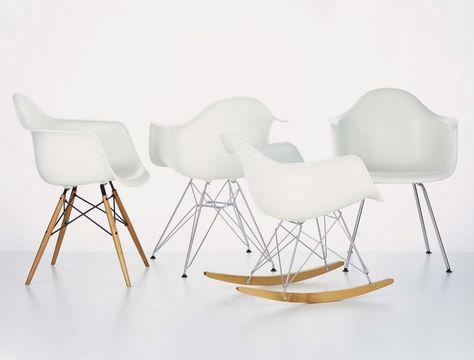 Sedie Charles Eames Vitra.Sedia Design Di Charles Ray Eames Eames Plastic Armchair Daw