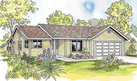 Plan 72516da Perfectly Practical Ranch Style House Plans Cottage Style House Plans Ranch House Plan