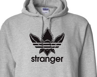 Stranger Things Adidas Demogorgon Parody Sweatshirt