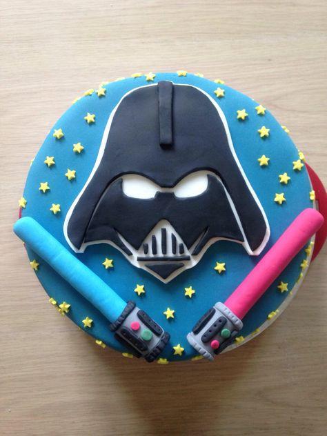 Astounding Star Wars Lightsaber Darth Vader Dark Side Birthday Kids Funny Birthday Cards Online Sheoxdamsfinfo