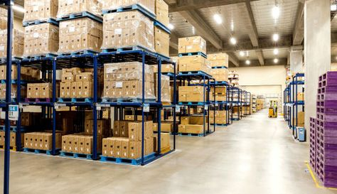 Our Warehousing Facilities Including Branded Material Handling