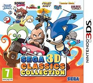 SEGA 3D Classics Collection download 3DS CIA & Decrypted Rom