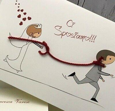 Ebay Partecipazioni Matrimonio.Dettagli Su Partecipazioni Nozze Inviti Wedding Buonanno New