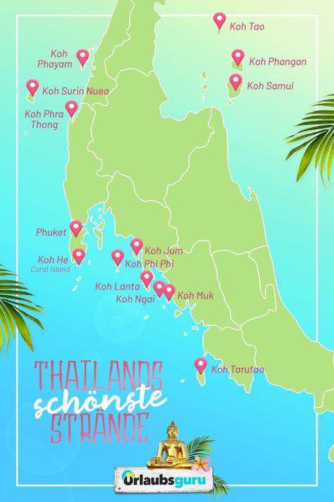 Die Schonsten Strande In Thailand Echte Geheimtipps Die