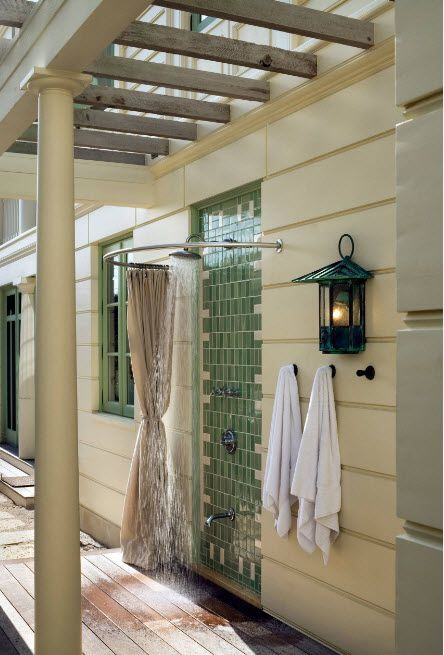 55 Refreshing Diy Outdoor Shower Ideas With Images Outdoor