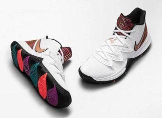 Nike Kyrie 5 BHM Colorways, Release