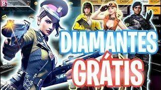 GANHE 10 000 DIAMANTES TOTALMENTE GRATIS FREE FIRE, COMO
