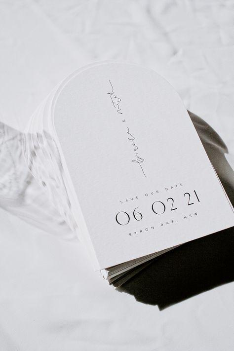 À faire soi-même Mariage Save the Date soirée cartes écrire votre propre invite jour nuit RSVP 19