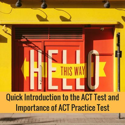 ACT Test Prep Practice and Flashcards