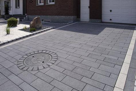 Einfahrten \ Parkplätze bonnet Garten- und Landschaftsbau - garageneinfahrt am hang
