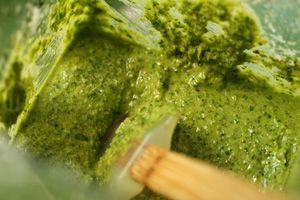 Blendtec blended Kale pesto