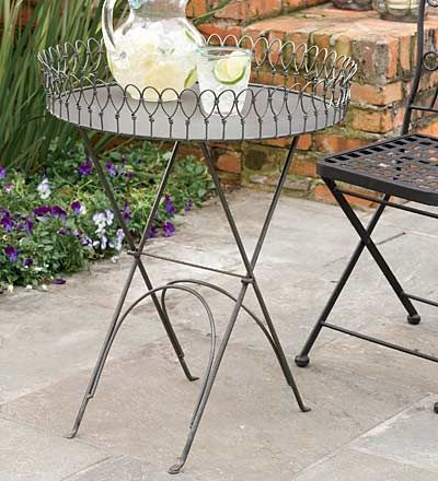 Vintage Look Metal Tray Table | Starfish And Sea Star Decor | Pinterest | Tray  Tables, Metal Trays And Trays