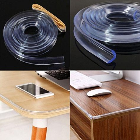1M Baby Safety Desk Table Edge Corner Protector Cushion Guard Strip Soft Bumper