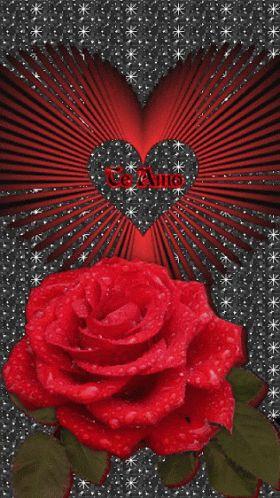 Heart Love GIF - Heart Love Rose - Discover & Share GIFs