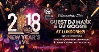 2018 Nye Celebration Londoners Bistro Pub New Years Party Party Tickets Nye Celebration