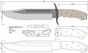 Knife Making Instructions Knifemaking Knife Making Knife Knife Patterns