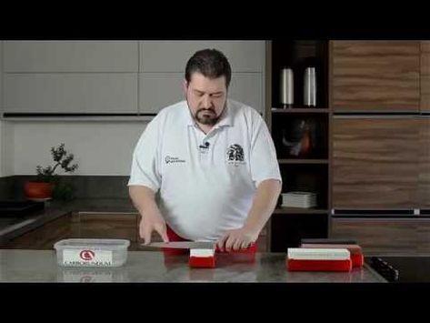Pedras de afiar Alta Gastronomia Carborundum - YouTube