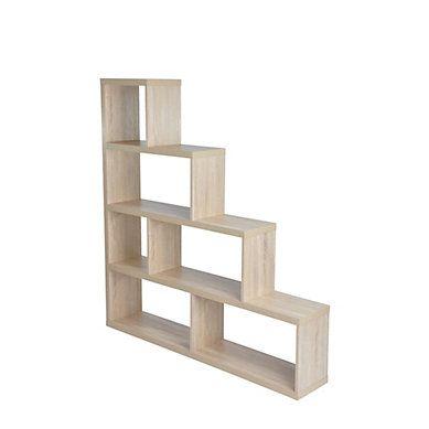 Separation Step 3 Imitation Chene Etagere Separation Meuble Cube Idees Etageres