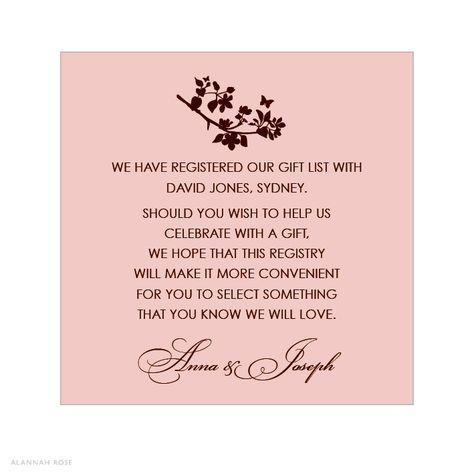 Ideas Wedding Gifts Registry Wording Wedding Gift Etiquette Wedding Invitation Wording Fun Wedding Invitations