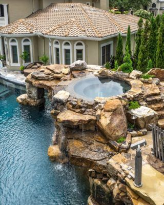 From Mild To Wild Insane Pools Special In Tampa Florida Lucas Lagoons Insane Pools Custom Pools Residential Pool