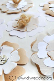 Blooming paper flower template kubreforic blooming paper flower template mightylinksfo