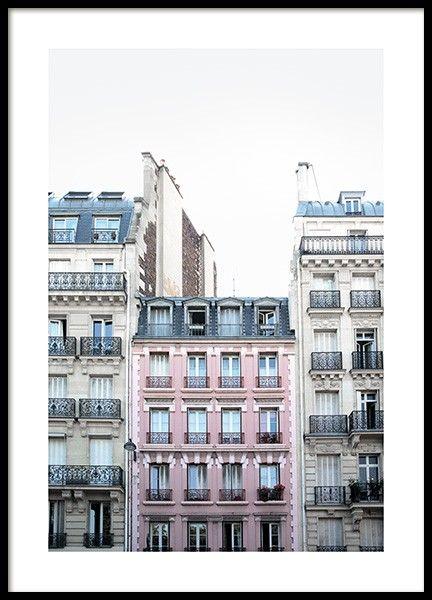 Arc De Triomphe Plakat I 2020 Plakater Billeder Pink
