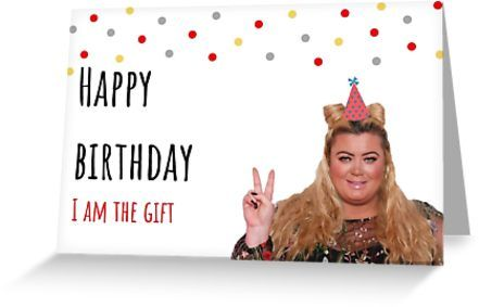 The Gift Mothers Day Card Funny Mothers Day Gift Gemma Collins Mothers Day