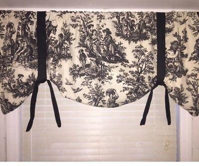 Waverly Window Valance Custom Made In My Shop Tie Up Valance