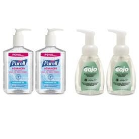 Purell Advanced Hand Sanitizer Hand Soap Kit 8 Oz Sanitizer 7 5