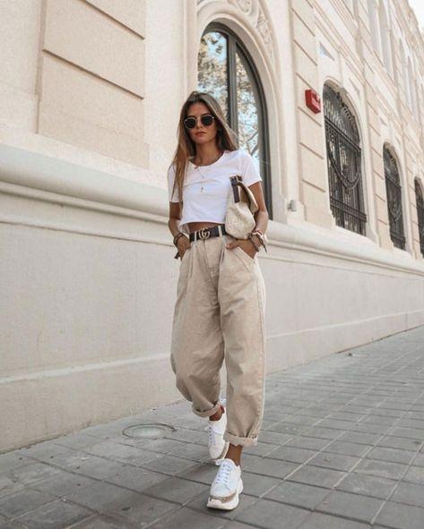 Alerta tendência: as calças baggy e Slouchy voltaram à moda | We Fashion Trends