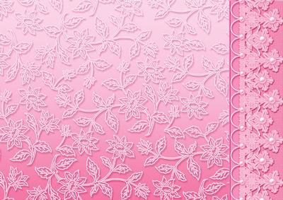 Pink Floral Lace with Lace and Pearls Border on Craftsuprint designed by Sue Douglas - This background is a pretty floral lace design with a lace and pearl border. Ideal for those female projects, either by using the full A4 sheet, or cutting into two for 2 A5 pieces (one with the border, one without the border). This backing paper comes in a range of 20 gorgeous colours, to see them please click on the Multi option. To see other designs in my Backing Papers Collection - please click on my…