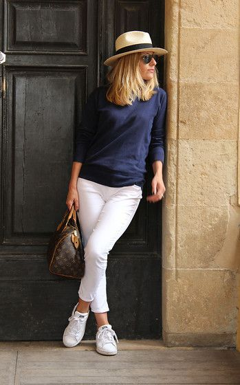 Coin Sweater, Zara Pants, Adidas Stan Smith, Louis Vuitton ...