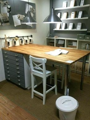 Image Result For Ikea Sewing Table Hacks Craft Room Tables