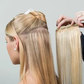 Pin On Best Clip In Hair Extensions