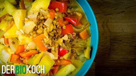 Indisches Curry Rezept vegan Der Bio Koch #718 Vegan Rezepte - serbische küche rezepte