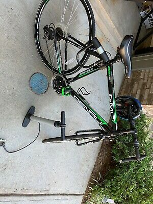 Sponsored Ebay Gmc Denali Road Bike 700c Black Green Medium 57cm Frame In 2020 Gmc Denali Road Bike Gmc