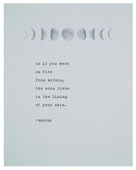 Pablo Neruda Poetry Print Typography
