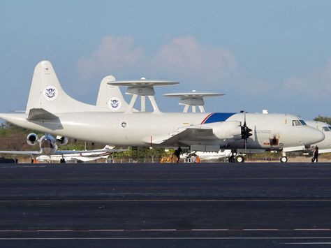 P-3 Orion aircraft operated by the the US Customs & Border
