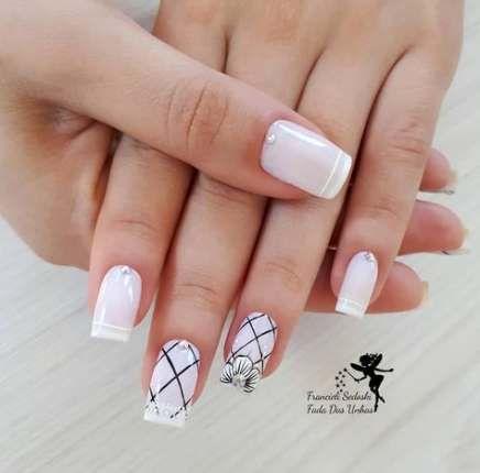 65 Trendy nails art sencillo flores