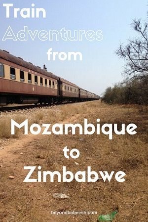 Taking The Train From Mozambique To Zimbabwe Pt 2 The Train To