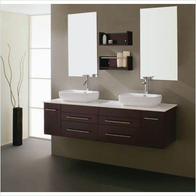 Double Sink Vanity Family Bathroom Floating Bathroom Vanities