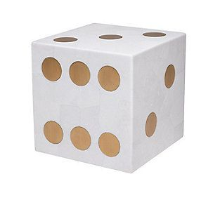 Excellent Jo Sampson Hustie Dice Accent Table Furniture Pieces Interior Design Ideas Oxytryabchikinfo