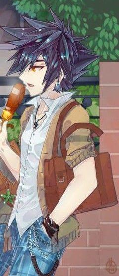 Eating Ice Cream On The Way Home Kingdom Hearts Kindom