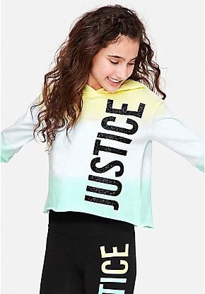 NWT JUSTICE GIRLS 14//16 OUTFIT~BLACK AND WHITE LOGO FOOTBALL TEE /& LOGO LEGGINGS