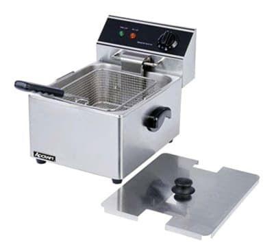 Winco Efs 16 Countertop Electric Fryer 1 16 Lb Vat 120v Deeps