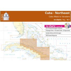 NV-Charts Reg. 10.1 - Cuba - Northeast: Cabo Maisi to Varadero - £99